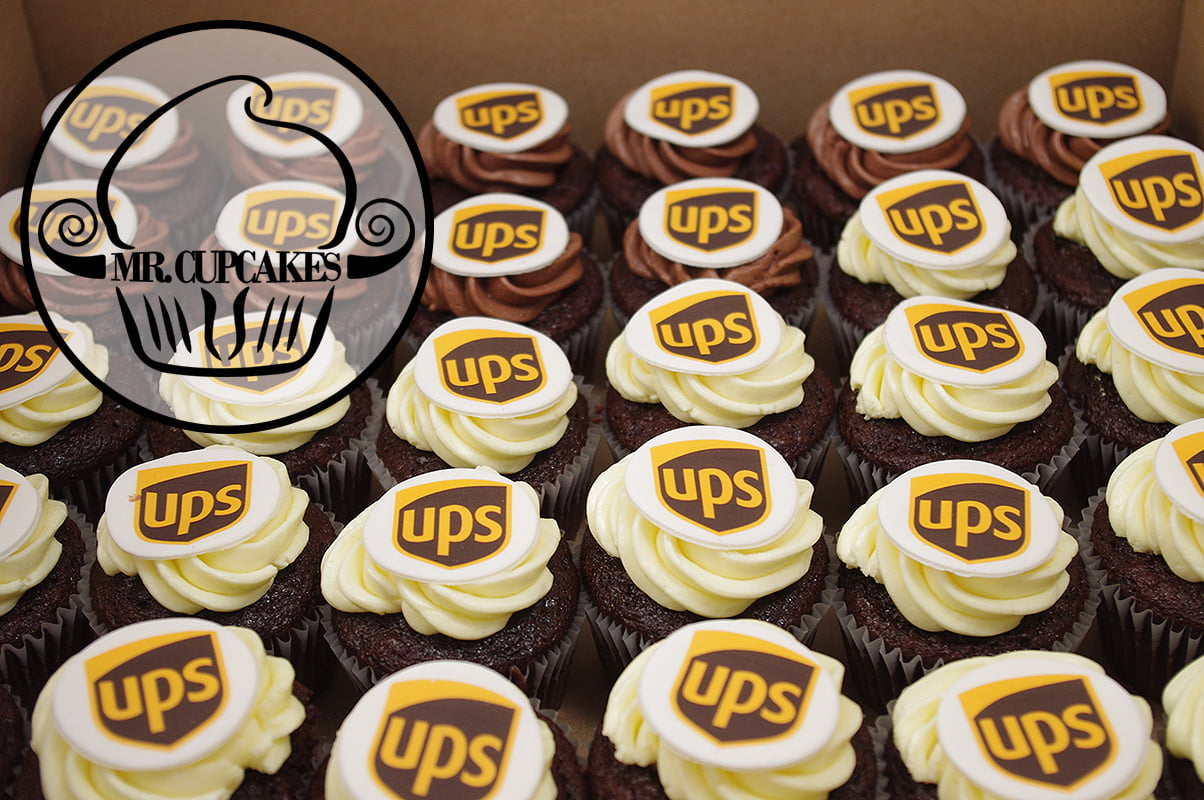 UPS Cupcakes