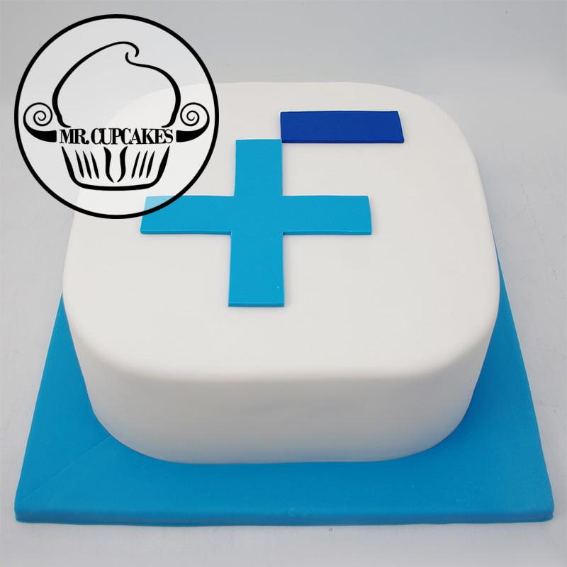 Business Logo Cake