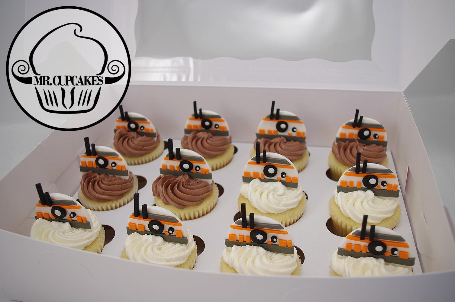 BB8 Cupcakes