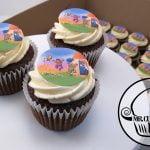 Summer vacation cupcakes