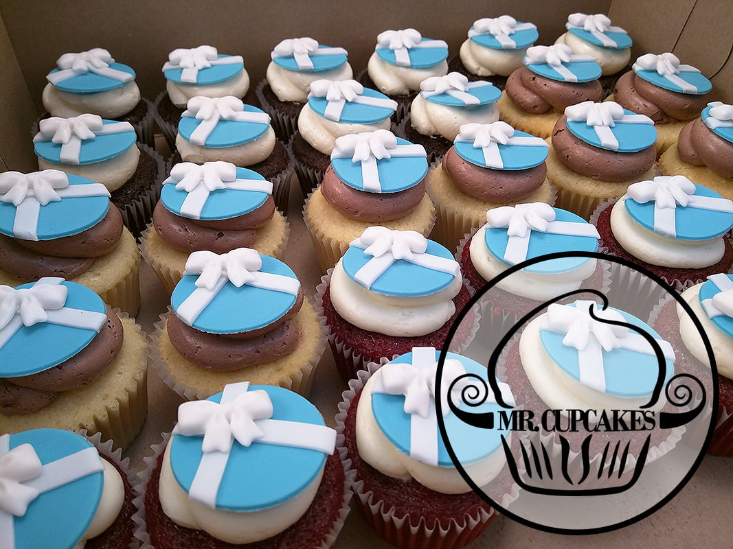 Tiffany cupcakes