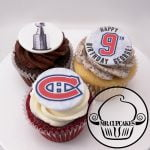 Montreal Canadiens Cupcakes