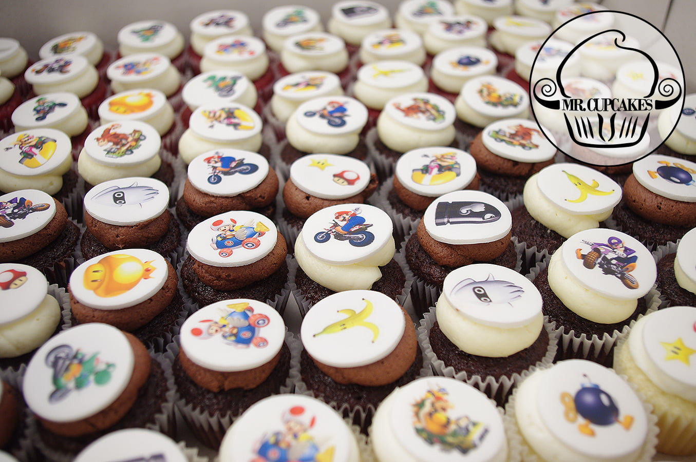 Mario Kart Cupcakes