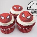Spider Man Cupcakes