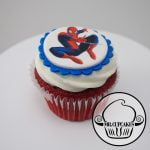 Spider Man Cupcake