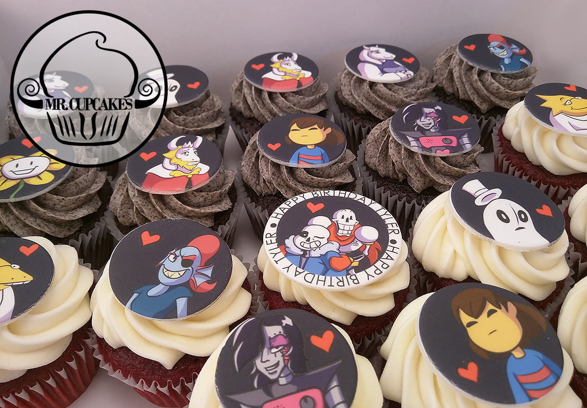 Undertale Cupcakes