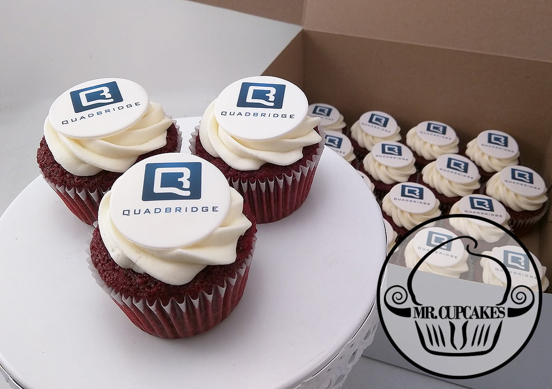Quadbridge cupcakes