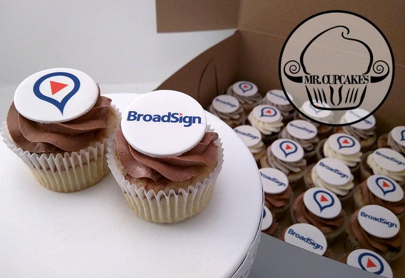 Broadsign cupcakes