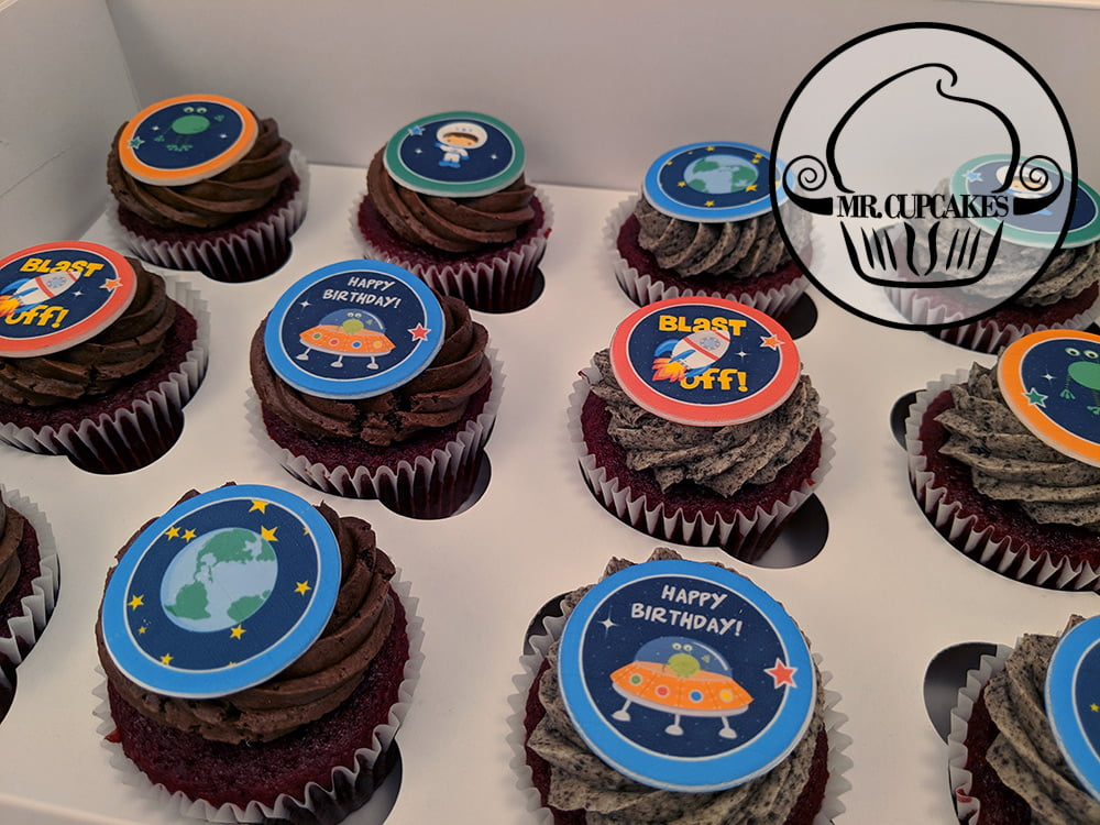 Space force cupcakes